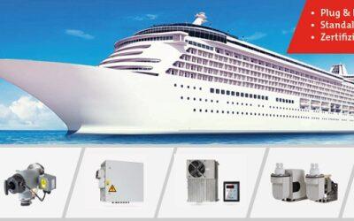 Emmissionsüberwachung: Komponenten für die Schifffahrt