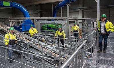 Kunststoffrecycling: Neue Sortieranlage nimmt Betrieb in Bremen auf