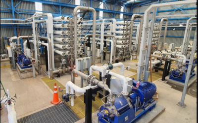 Seawater desalination plant to overcome water shortage in Chilean city