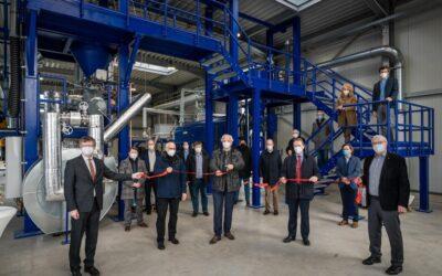 Nachhaltige Kreisläufe: Neues thermo-chemisches Zentrum