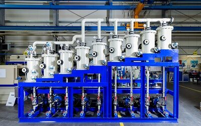 BHS-Sonthofen liefert Taktbandfilter für Produktion von Kunststoffen