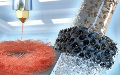 Graphen-Biopolymer-Aerogele aus dem 3D-Drucker zur Spurenstoffelimination