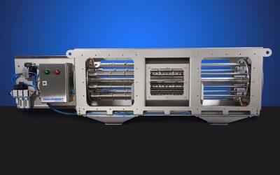 Metallpartikeln ab 30 μm aus Pulver und Granulaten ohne Produktionsunterbrechung entfernen