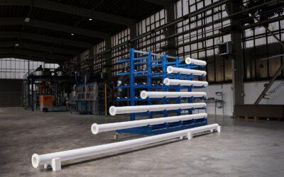 Erweiterung von Technikum und Produktion für die Heißgasfiltration