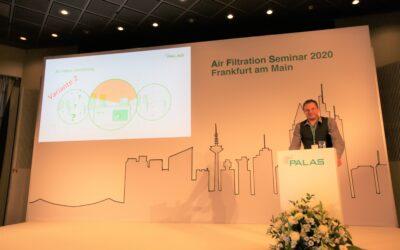 Palas Air Filtration Seminar 2021: Testing against the virus – progress & future developments