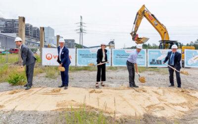 Baustart in der Lausitz: Klärschlammtrocknung mit Abwärme