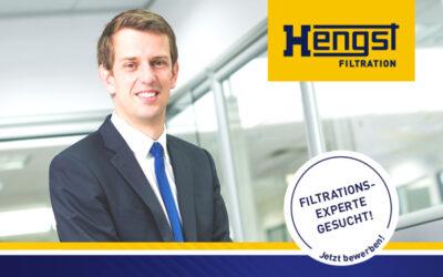 Job: Group Director Tech Center Filtration (m/w/d) bei Hengst